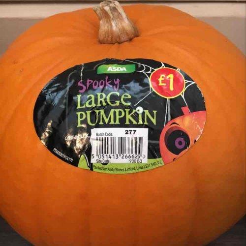 Spooky Large Pumpkins - £1.00 / Medium Pumpkins - 50p @ Asda (In-Store & Online)