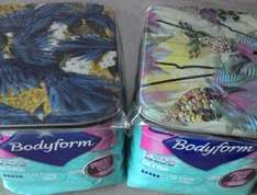 Bodyform + free snazzy tin £1 at Superdrug