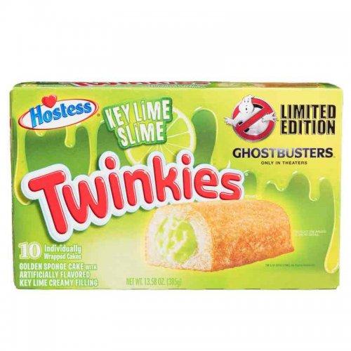 Hostess Twinkies Ghostbusters - Key Lime Slime 10pk 385g £1.00 @ B&M