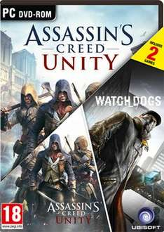 Assassin's Creed: Unity & WatchDogs Double Pack - (PC - UPlay) £9.99 @ Game