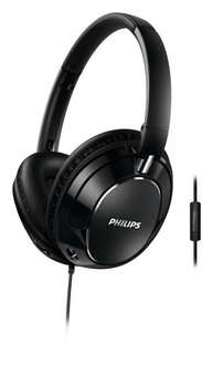 Philips FX5MBK Foldable Noise-isolating over-ear Headphones with Built-in Remote Control and Microphone Black £20.99 @ Amazon