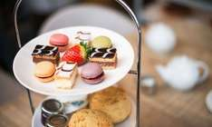 Seasonal Afternoon Tea for Two inc sandwiches / scone cream tea / mille feuille / macaroons /strawberries / hot drinks with Free Refills at Wyevale Garden Centres Just £5pp via Groupon