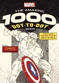 Free Delivery (with code) On Orders over £18 @ The Book People ie Marvel Readers 15 Book Collection + Marvel: The Amazing 1000 Dot-to-Dot Book just £18.98 Del (more offers in comments)