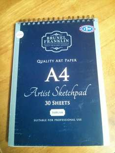 Brunel Franklin quality a4 paper 10p at B&M
