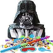 Complete Star Wars Darth Vader Pinata Kit was £27.39 now £12.34 C+C @ Tesco Direct (Inc a buster, blindfold, 24 toy favours & 1kg of sweets)