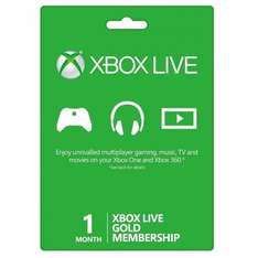 Xbox Live Gold (New & Existing Members): Get 1-Month Membership Free