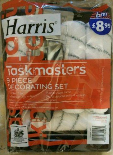 Harris Taskmasters 9 Piece Decorating Set MISPRICE B&M £1