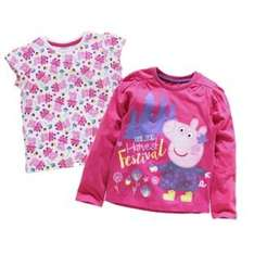 peppa pig 2 pack of t-shirts at argos £4.99 18 monthe - 5years @ Argos