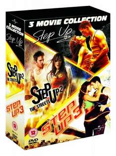 Step Up 1-3 Box Set [DVD] £1.63 (prime) £3.62 ( non prime) @ Amazon