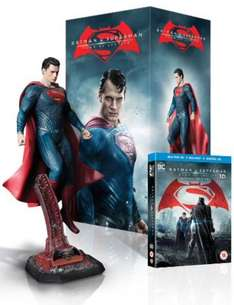 Batman v Superman: Dawn of Justice - Superman Statue Ultimate Edition (Limited Edition) [Blu-ray 3D + Blu-ray] £49.99  @ amazon