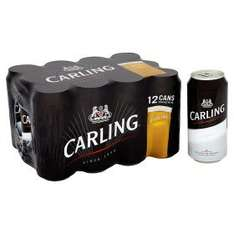 36 cans of Carling Lager for £20 at Asda (3 crates of 12)