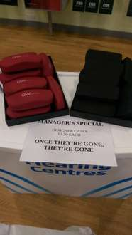 Glasses Cases £1.50 instore @ specsavers