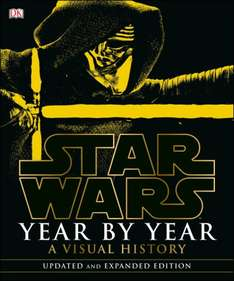 Star Wars Year by Year Updated Edition, £12 in ASDA, RRP £35/Amazon £20