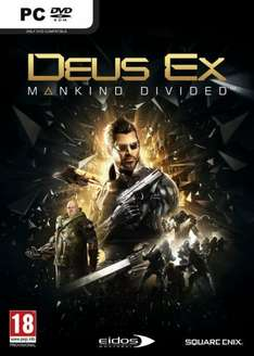 Deus Ex: Mankind Divided PC + DLC ( £21.84 with cdkeys 5% fbook like code )