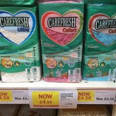 Carefresh small animal bedding 10 litre £4.50 Pets at home
