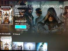 Assassin's Creed Syndicate Gold Edition (XBox One) £22 - Xbox Marketplace