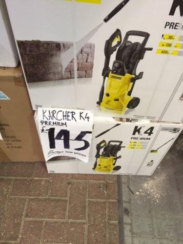 Karcher K4 Premium (old model) in store Homebase - £145