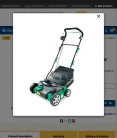 Aldi - 1500w Rake & scarifier only £19.99 Instore - down from £69.99. Listed as £34.99 on website