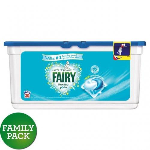 Fairy Non Bio. Pods Washing Capsules 30 Washes £5 at Tesco