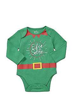 Baby Elf & Snowman Long Sleeve Bodysuits sizes 0 - 18mths £2 C+C @ Tesco Direct