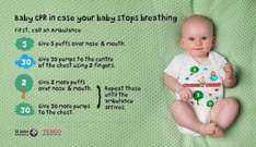 Free 'Life-Saving' Babygrow Launched By St John Ambulance And Tesco (selected stores from 13th Oct)