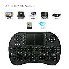 Seguro Wireless Keyboard with Touch pad with good reviews  £8.99 prime / £12.98 non prime Sold by SEGURO and Fulfilled by Amazon