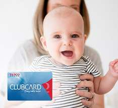 Free 100 Tesco Clubcard Points and £15,000 free life insurance for 1 year (and more offers) if you've a child under 5