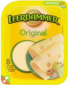 Leerdammer Cheese Slices & Light Cheese Slices (160g) was £1.75 now £1.00 @ Tesco