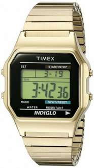 Timex Classic Unisex Quartz Watch with Digital Display and Stainless Steel Bracelet at Amazon for £24.50