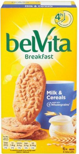Belvita Crunchy Oats Breakfast Biscuits 6 x 50gwas £2.52 now £1.00 @ Morrisions