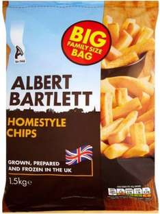 Albert Bartlett Homestyle Frozen Chips (1.5Kg) was £2.48 now £1.25 @ Morrisons