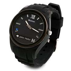 Martian Notifier Smartwatch with Text and App Alerts for iOS and Android Devices - Black. £24.99 - Amazon