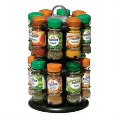 Schwartz 16-Bottle Spice Carousel/Rack (with spices) £24.99 robertdyas (£21.14 with voucher code and Quidco)