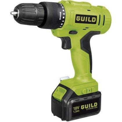 18 volt Guild Li-Ion Cordless Combi Drill £19.53 Homebase