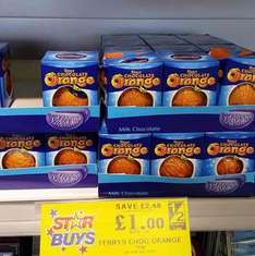 Terry's Chocolate Orange £1 @ home bargains