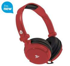 4GAMERS LICENSED PRO4-10 HEADSET - RED PS4 (Also Blue) - £14 @ Tesco