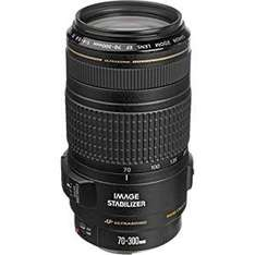 Canon EF 70-300mm f/4.0-5.6 IS USM £252.10 with free shipping from Amazon