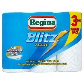 Regina Blits Kitchen Roll £3.00 in Poundworld
