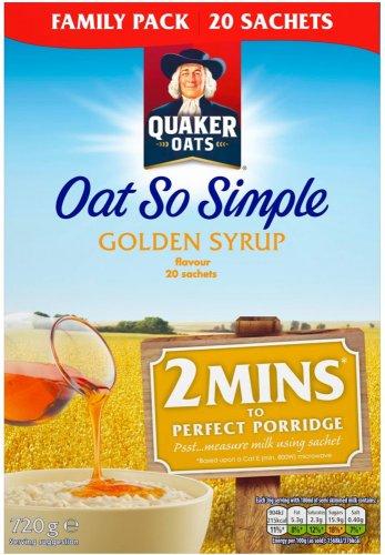 Quaker Oat So Simple Original Porridge 22 x 27g Half Price was £3.99 now £1.99 @ Tesco from 12th
