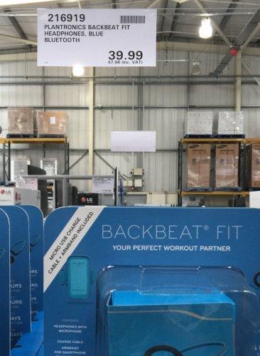 Plantronics Bluetooth headphones at Costco £47.98. Cheaper than Amazon