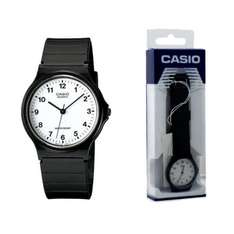 Casio Classic Mens and Ladies Casual Black Wrist Watch MQ-24-7BLL Water Resist 2YR Warranty - Black only £5.29 @ 7Dayshop.com (Delivered Free)