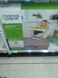Mamas and Papas Earlybird High chair £30 down from £100 instore only at Asda