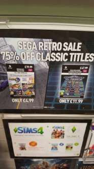 Dreamcast collection Sega Mega Drive Classics collection (FOR PC) £11.99 @ Game in store