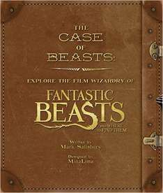 The Case of Beasts - Fantastic Beasts & where to find them[book] £15 @ Amazon