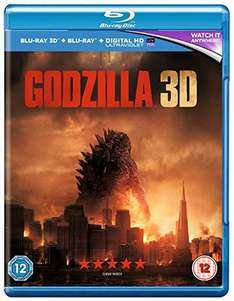 Godzilla 3D / 2D / UV Blu Ray £4.95 (Amazon Prime) £6.21 (non-prime)