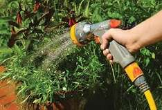 15M garden hose with fittings both ends and trigger spray gun just £4.97 at Homebase (Bunnings)