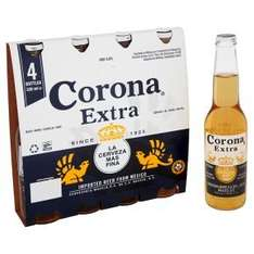 Corona Extra 4x330ml 3 for £5 (12x330ml for £5) @ Waitrose instore