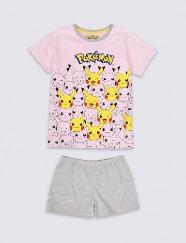 Pokemon Short Pyjamas were £11 - £13 now £2.99 - £5.99 C+C @ M&S