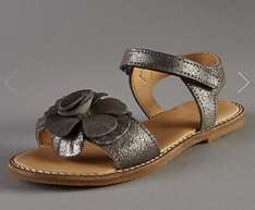 Girls leather sandals £3.19 - £4.79. Marks and Spencer
