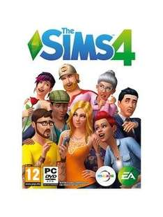 The Sims 4 PC DVD £27.99 @ Very.co.uk (physical deal only)